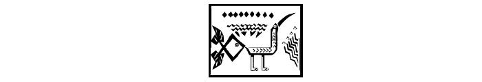 PatternsAnimals Font OTHER CHARS