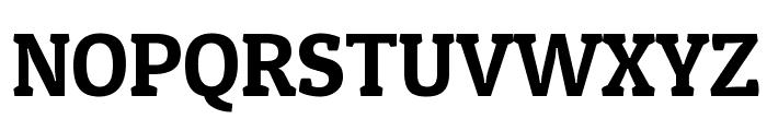 Patua One Font UPPERCASE