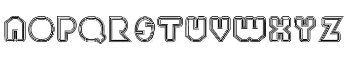 PaulKlein Font UPPERCASE