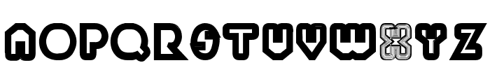 PaulKleinTwo Font UPPERCASE