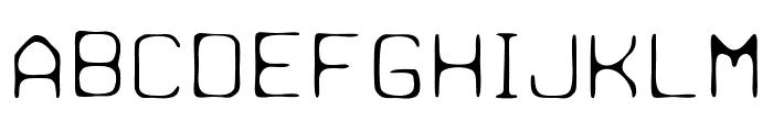 Paulchen Light Font UPPERCASE