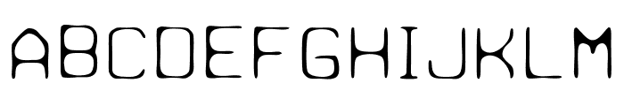 Paulchen Light Font LOWERCASE