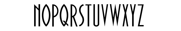 Paulistana Deco Normal Font LOWERCASE