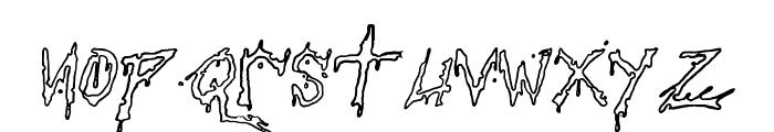 Pauls Bloody Font Font LOWERCASE