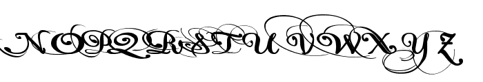 Pauls California Solid Font UPPERCASE