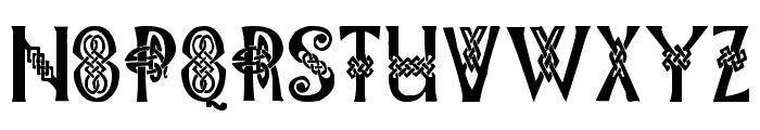 Pauls Celtic Font 1 Font UPPERCASE