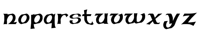 Pauls Celtic Font 1 Font LOWERCASE