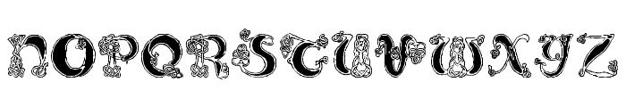 Pauls Celtic Font 2 Font UPPERCASE
