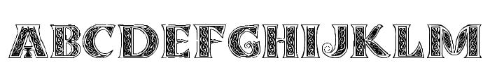 Pauls Celtic Font 3 Font UPPERCASE