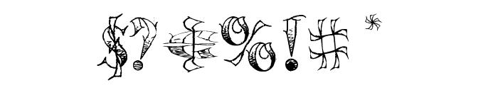 Pauls Circus Font Font OTHER CHARS