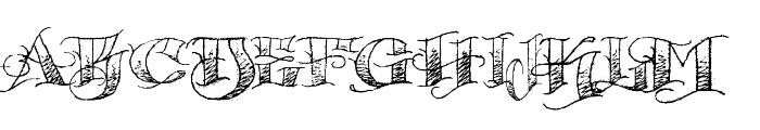 Pauls Circus Font Font UPPERCASE
