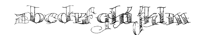 Pauls Circus Font Font LOWERCASE