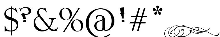 Pauls Fancy Script Font OTHER CHARS