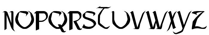 Pauls Heartless Font Font UPPERCASE