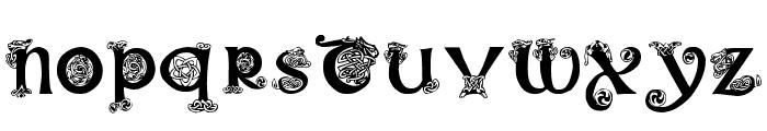 Pauls Illuminated Celtic Font Font LOWERCASE