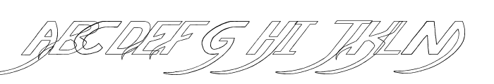 Pauls Poison Font Italic Font UPPERCASE