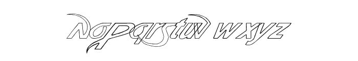 Pauls Poison Font Italic Font LOWERCASE