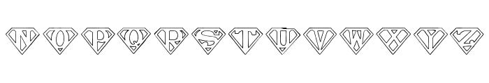 Pauls SUPER Font Font UPPERCASE