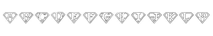 Pauls SUPER Font Font LOWERCASE