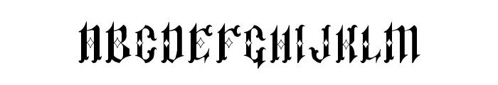 Pauls Sinner Font Font LOWERCASE