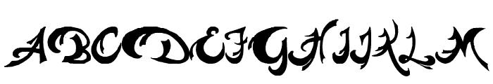 Pauls Weight Font UPPERCASE
