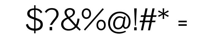 Pavanam Regular Font OTHER CHARS