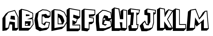 Pavement Logger Font UPPERCASE