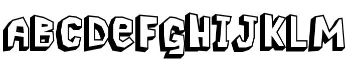 Pavement Logger Font LOWERCASE