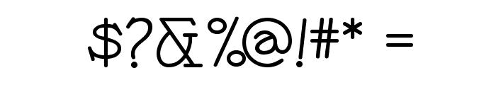 Payzant Pen NF Font OTHER CHARS