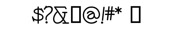 PayzantPen Font OTHER CHARS