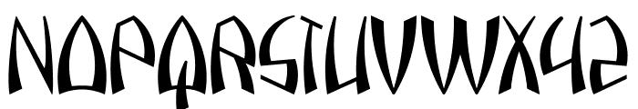 Pazuzu Font UPPERCASE
