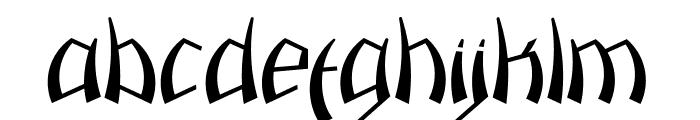 Pazuzu Font LOWERCASE