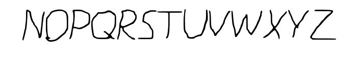 paint Font UPPERCASE