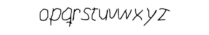 paint Font LOWERCASE