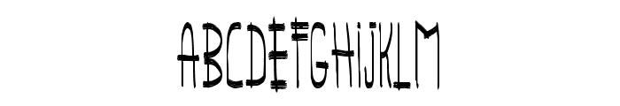 panchito style Font LOWERCASE