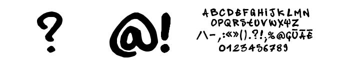 pandastylepanda1 Font OTHER CHARS