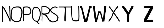 panji sans Font UPPERCASE