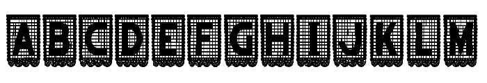 papelpicado-Regular Font UPPERCASE
