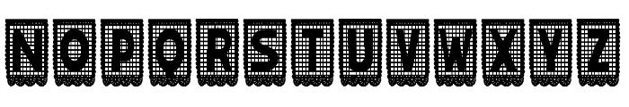 papelpicado-Regular Font LOWERCASE