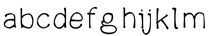 parsniptime Font LOWERCASE