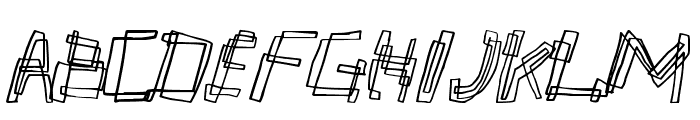 partyline Font UPPERCASE
