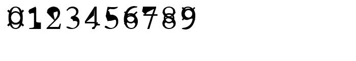 Pabo Regular Font OTHER CHARS