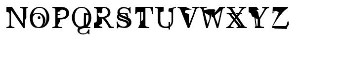 Pabo Regular Font UPPERCASE