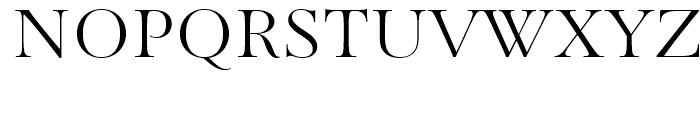 Paganini Light Font UPPERCASE
