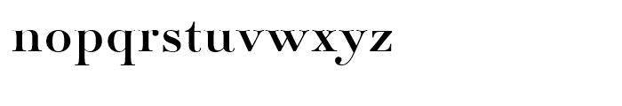 Paganini Regular Font LOWERCASE