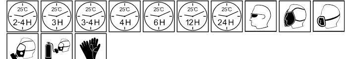 Paint industry symbols Regular Font UPPERCASE