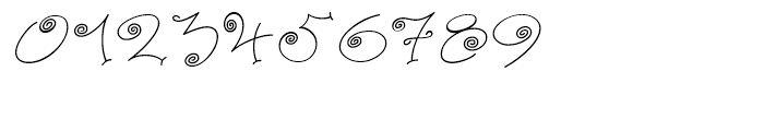 Paisley One Regular Font OTHER CHARS