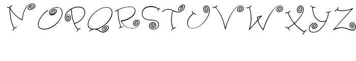 Paisley One Regular Font UPPERCASE