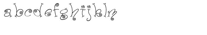 Paisley One Regular Font LOWERCASE