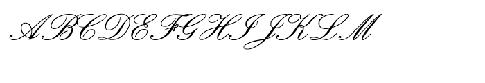 Palace Script SemiBold Font UPPERCASE
